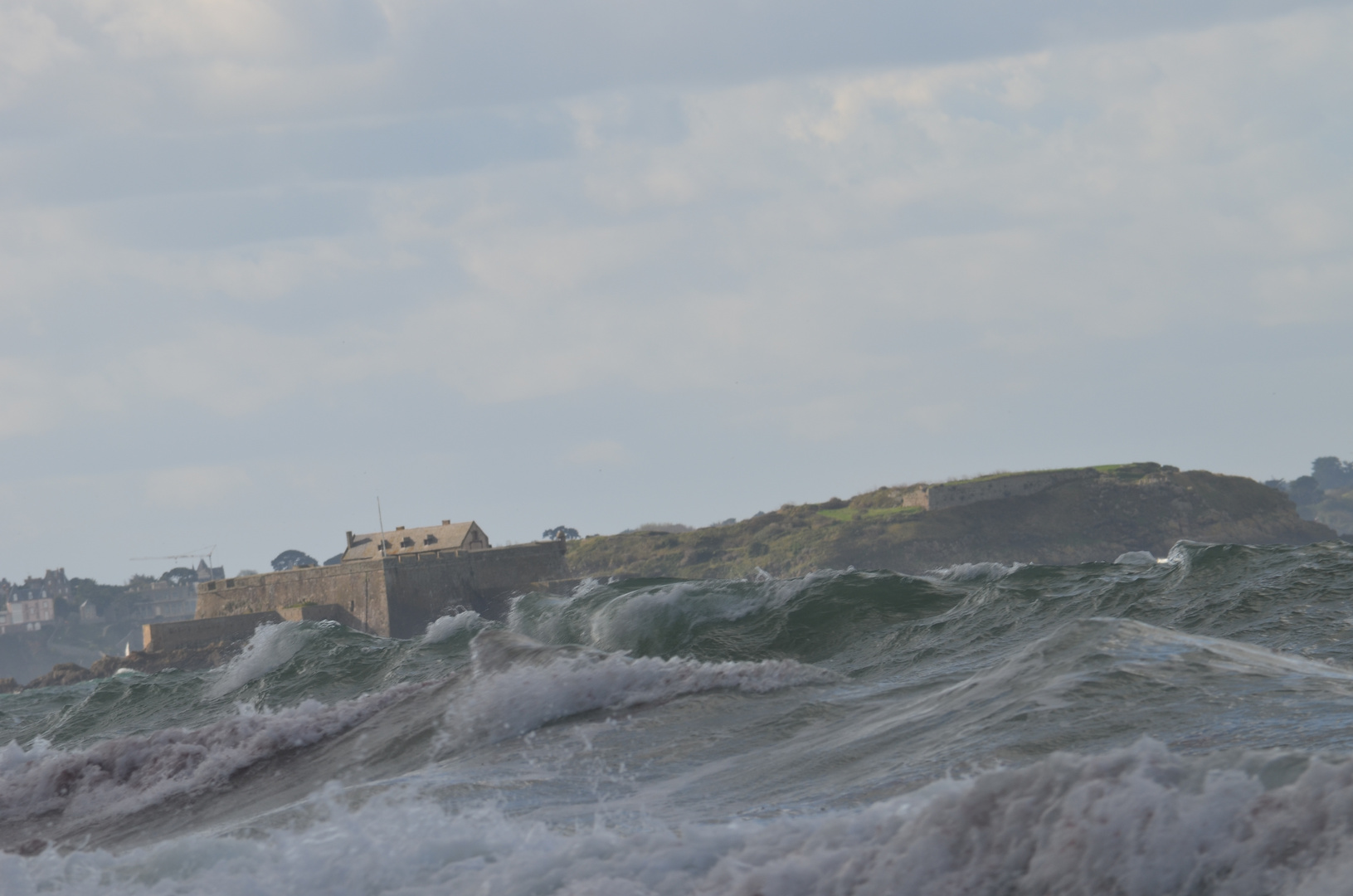 Strong Storm over Saint Malo