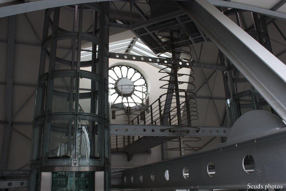Structure de la gare de Namur