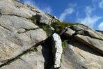 Struktur am Berg