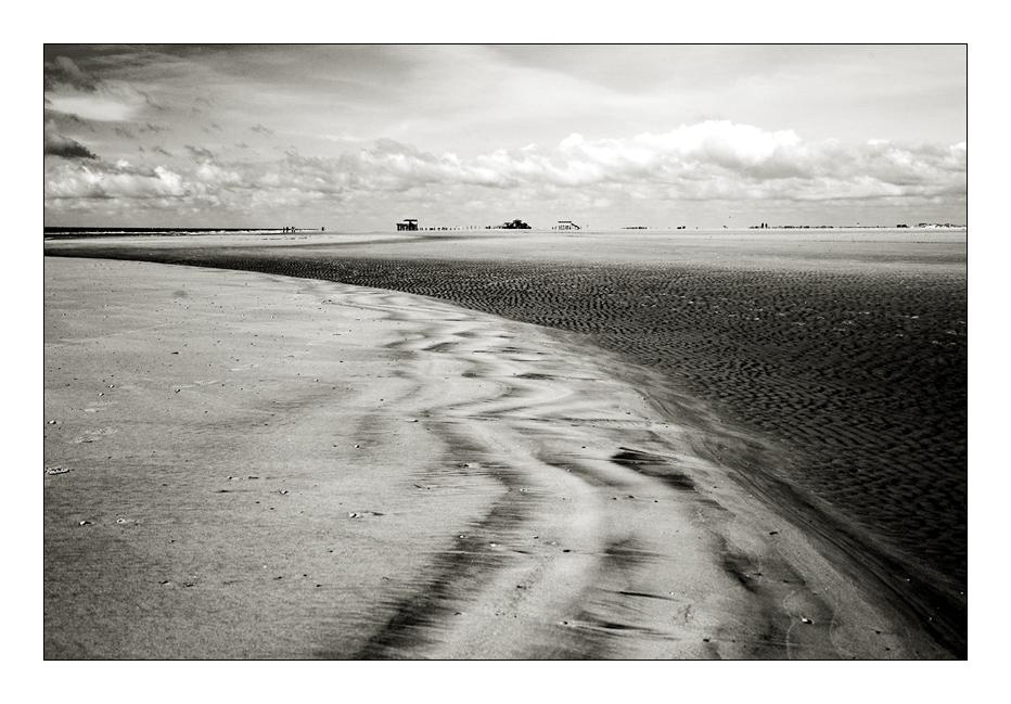 ... Strukturen am Strand von SPO ...