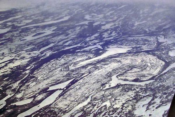 Strukturen aus dem Archaikum in Kanada