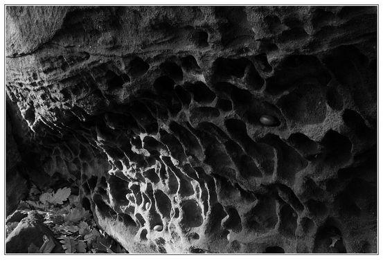 Strukturen im Sandstein
