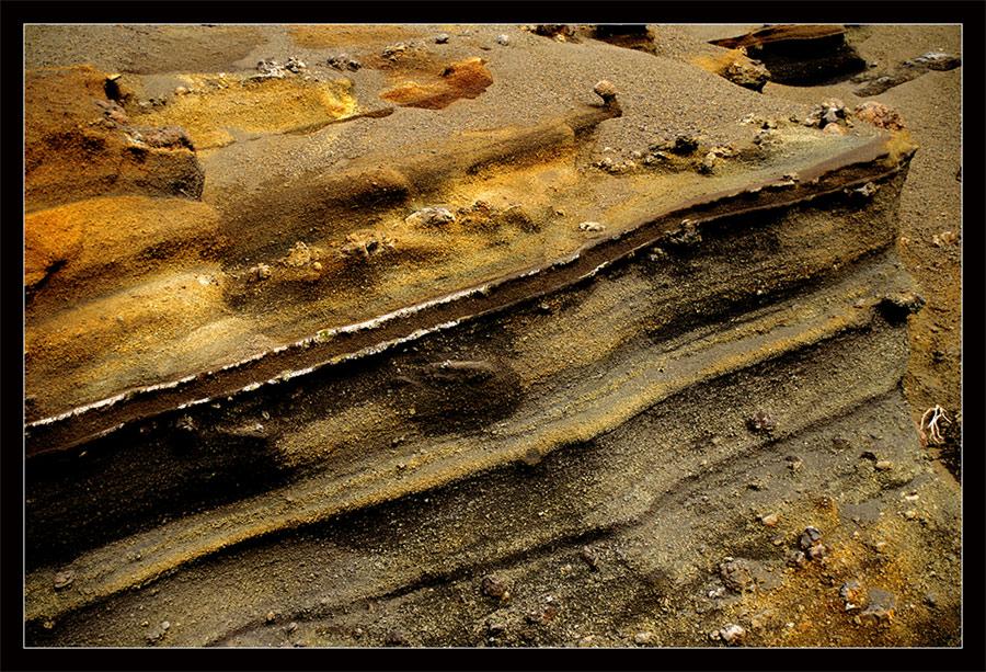 Strukturen und Farben, - gefunden auf Teneriffa I