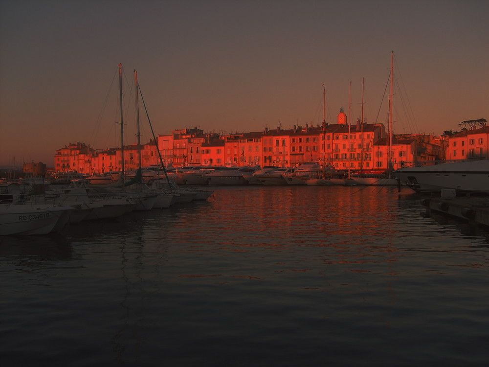 St.Tropez Sonnenuntergang