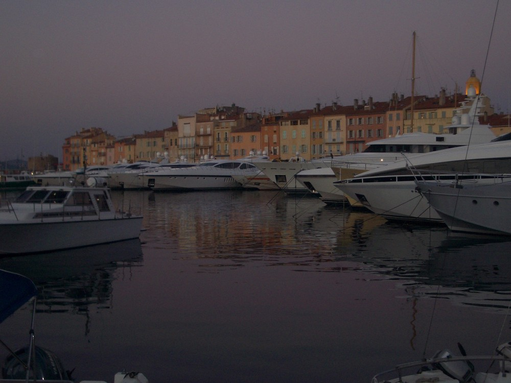 St.Tropez - twilight