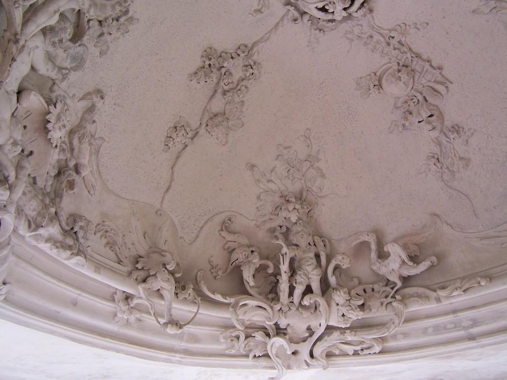 Stuckdecke in Palais Schardt