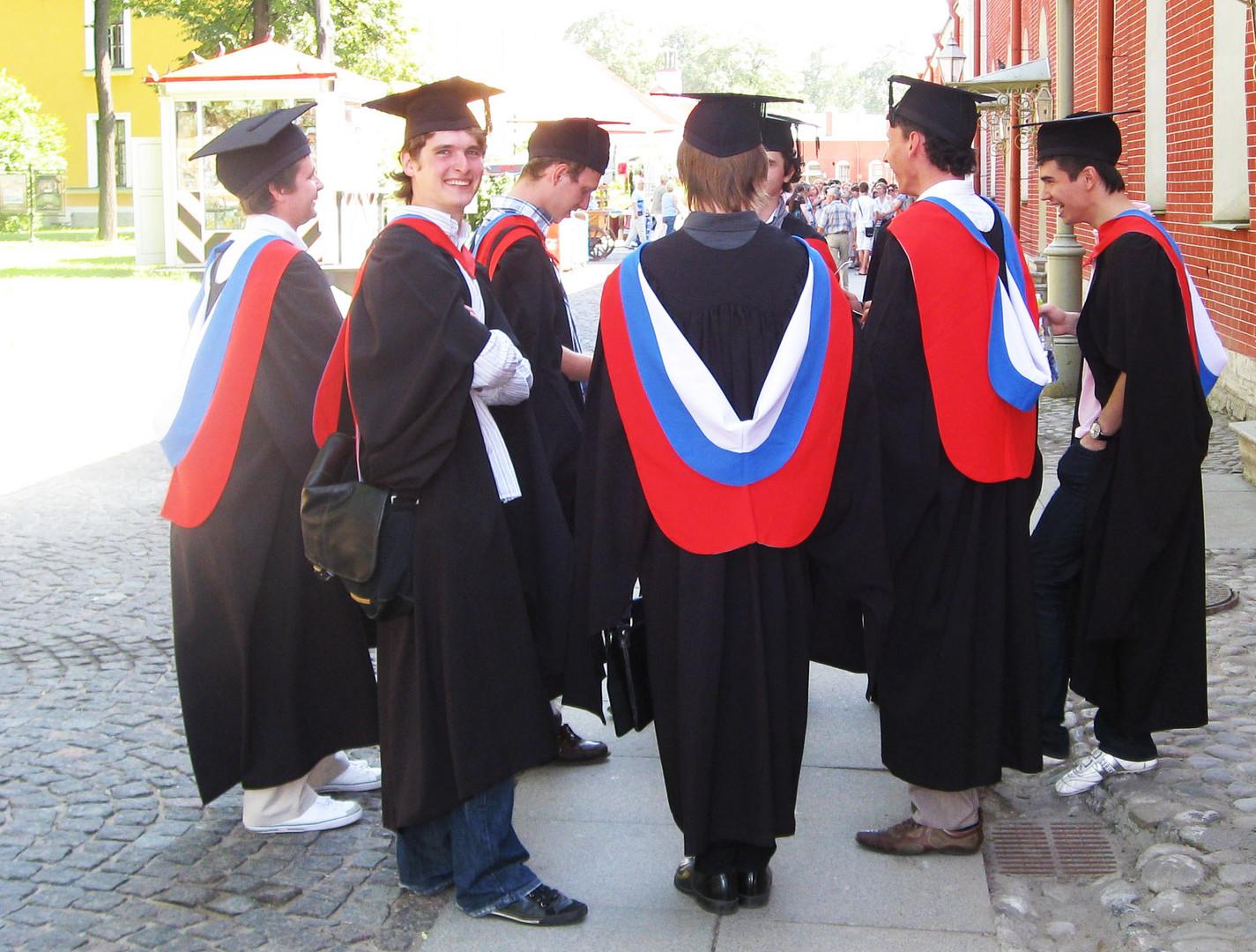 Studenten in St. Petersburg