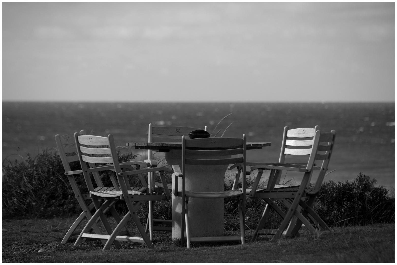 Stühle mit Aussicht