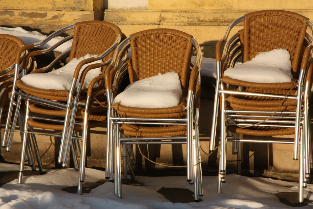 """Stühle mit """"besonderen"""" Polster"""