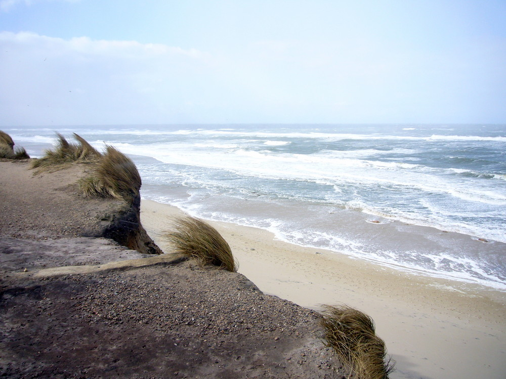 st rmische nordsee am strand von kampen auf sylt foto bild landschaft meer strand. Black Bedroom Furniture Sets. Home Design Ideas