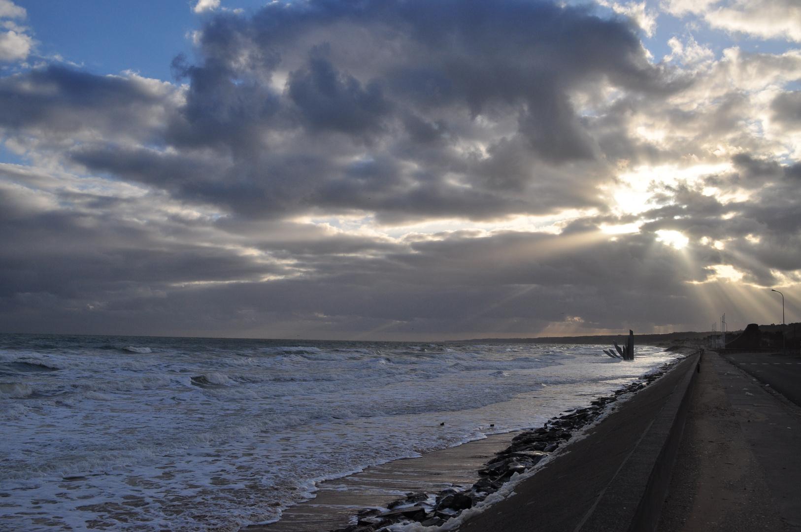 Stürmische Normandie