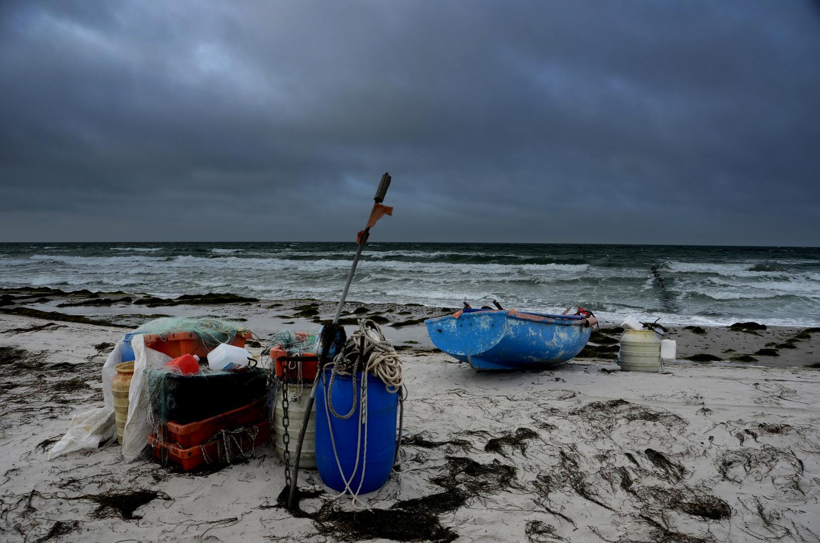 Stürmische Zeit auf der Insel