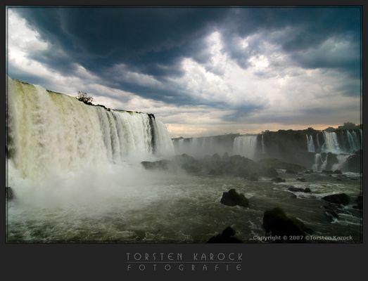 Stürmischer Iguacu