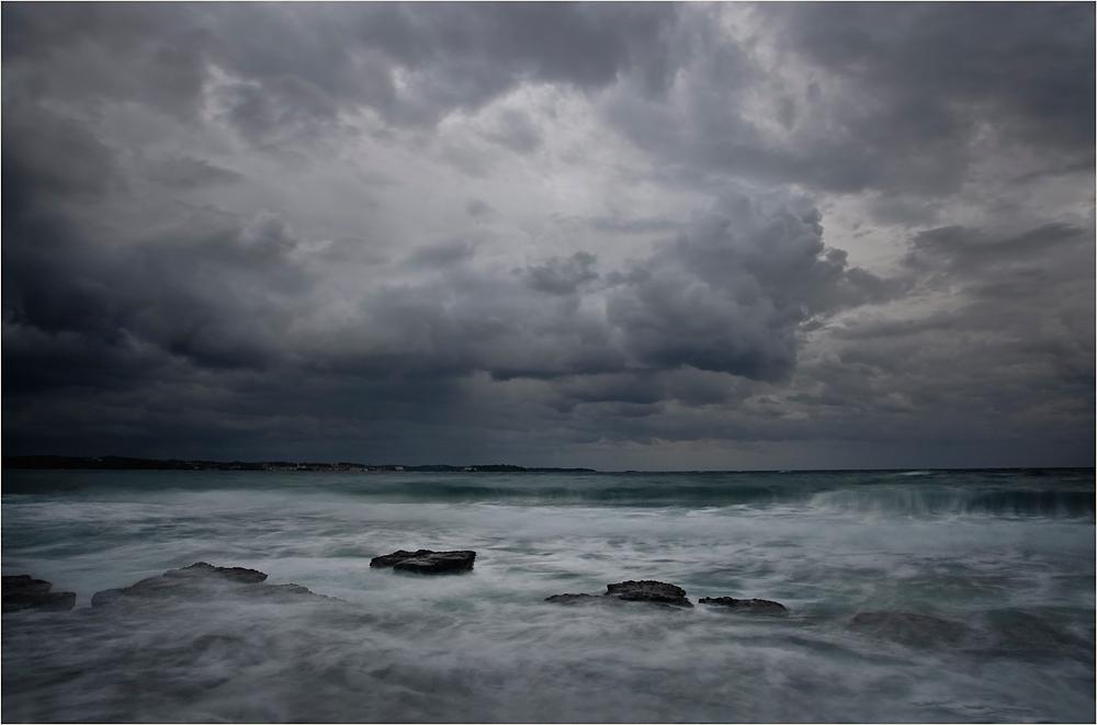 stürmischer morgen...