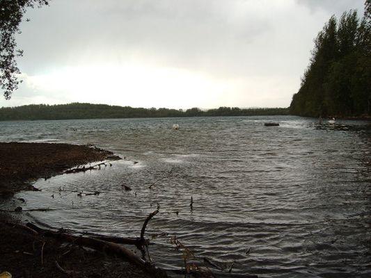 Stürmischer See