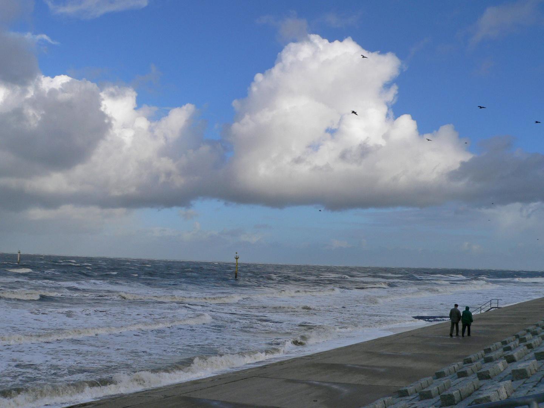 stürmischer Tag auf Norderney
