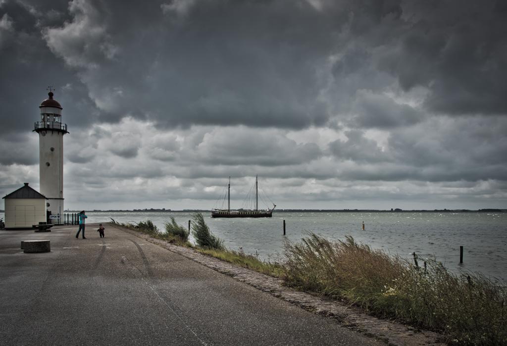 Stürmisches Holland