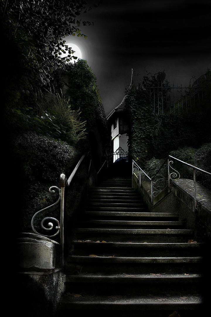 Stufen in Bern, Schweiz