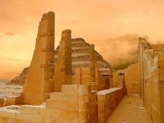 Stufenpyramide von Sakkara