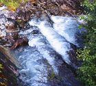 Stufiger Wasserfall
