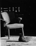 Stuhl und Schuhe