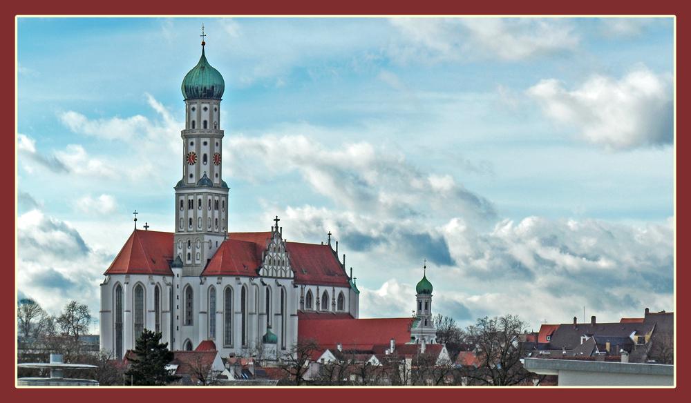 St.Ulrich in Augsburg.