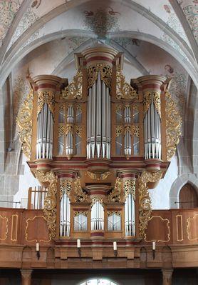Stumm-Orgel der Kirche St. Matthias zu Bad Sobernheim