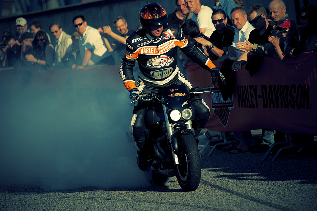 Stuntshow @ Harley Days 2010 - Hamburg