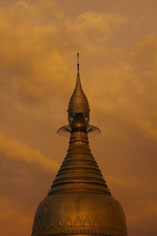 Stupa in Yangon