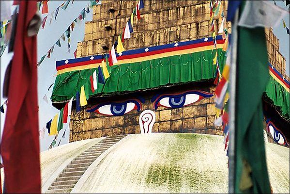 Stupa von Boudhanath