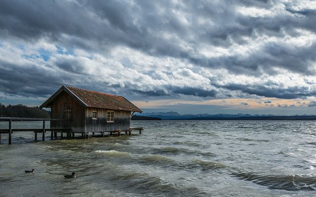 Sturm am Ammersee