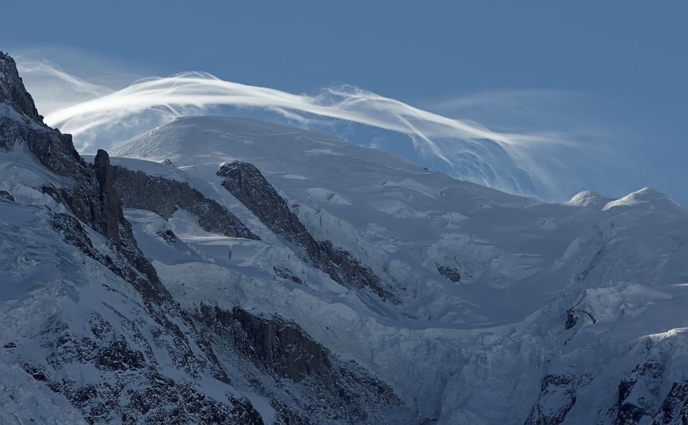 Sturm am Mont Blanc