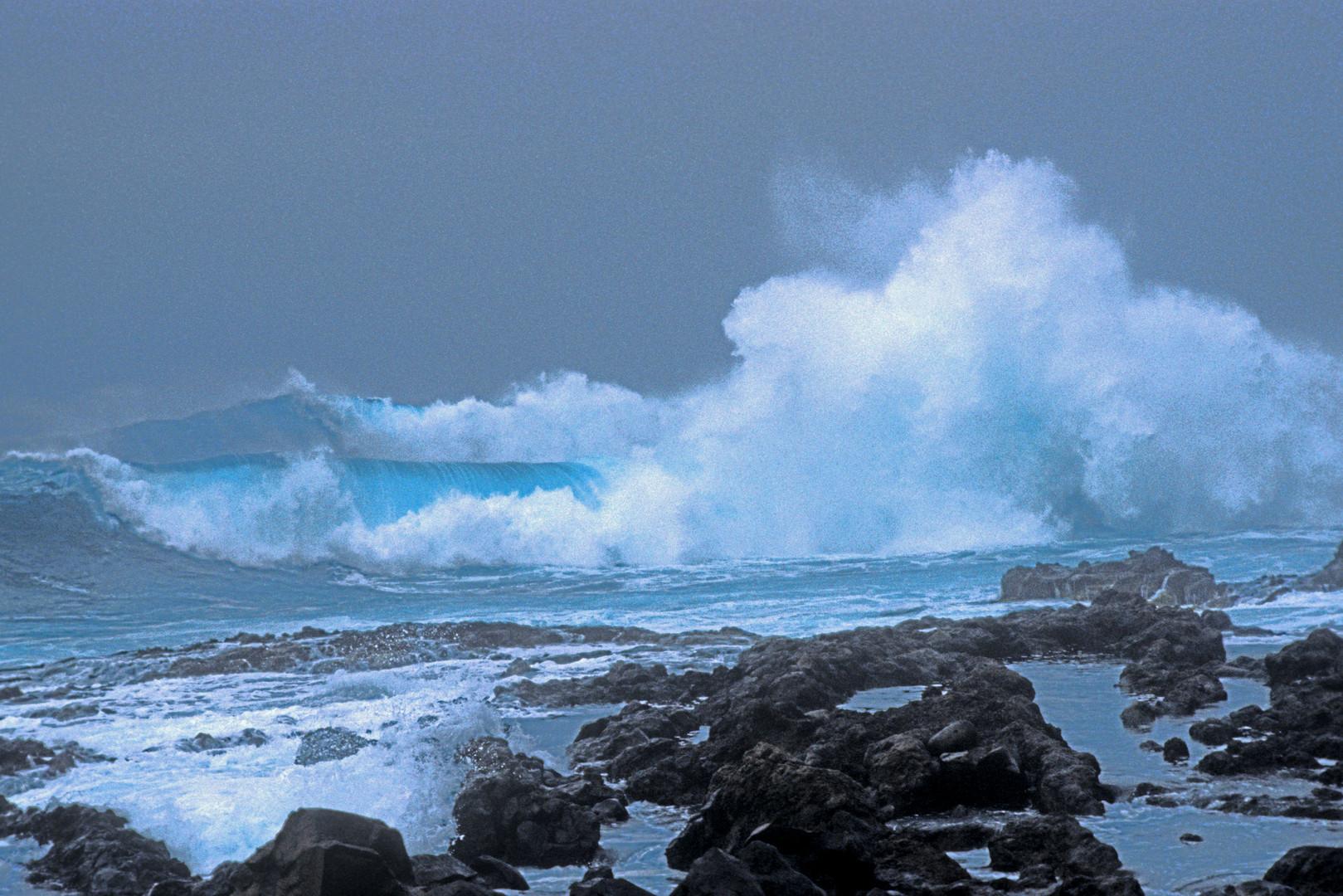 Sturm am Punto de Teno (Tenerife Norte 1994) I