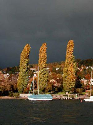 Sturm am Zürichsee