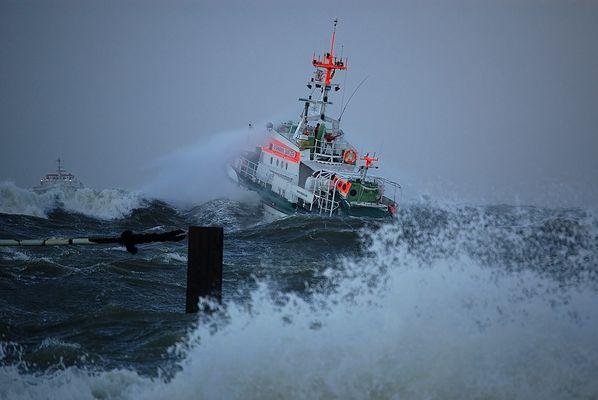 Sturm an der Nordsee