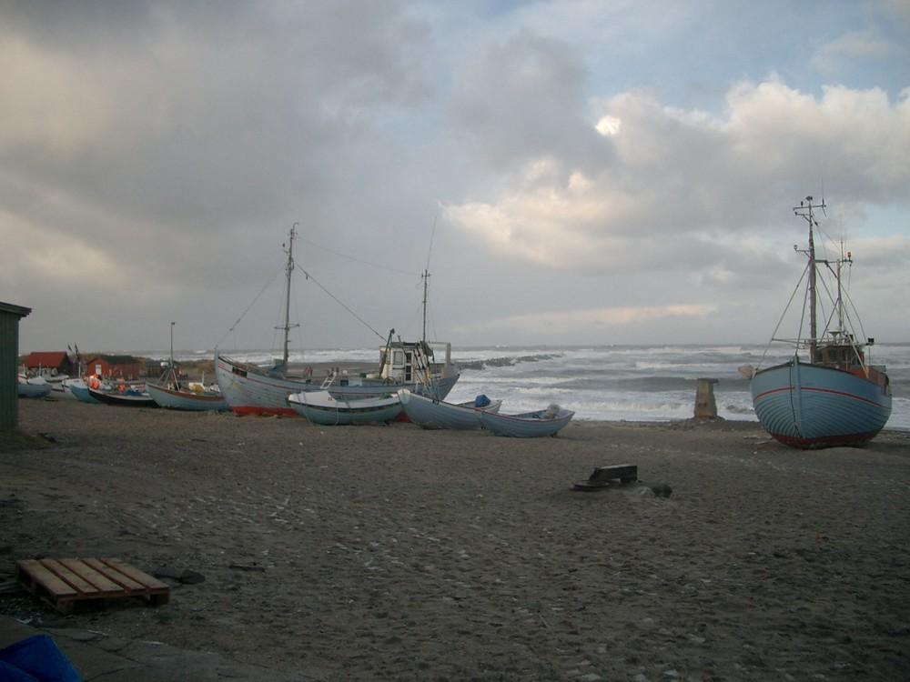 Sturm an der Nordsee II