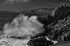 Sturm an der Pointe de Bihit