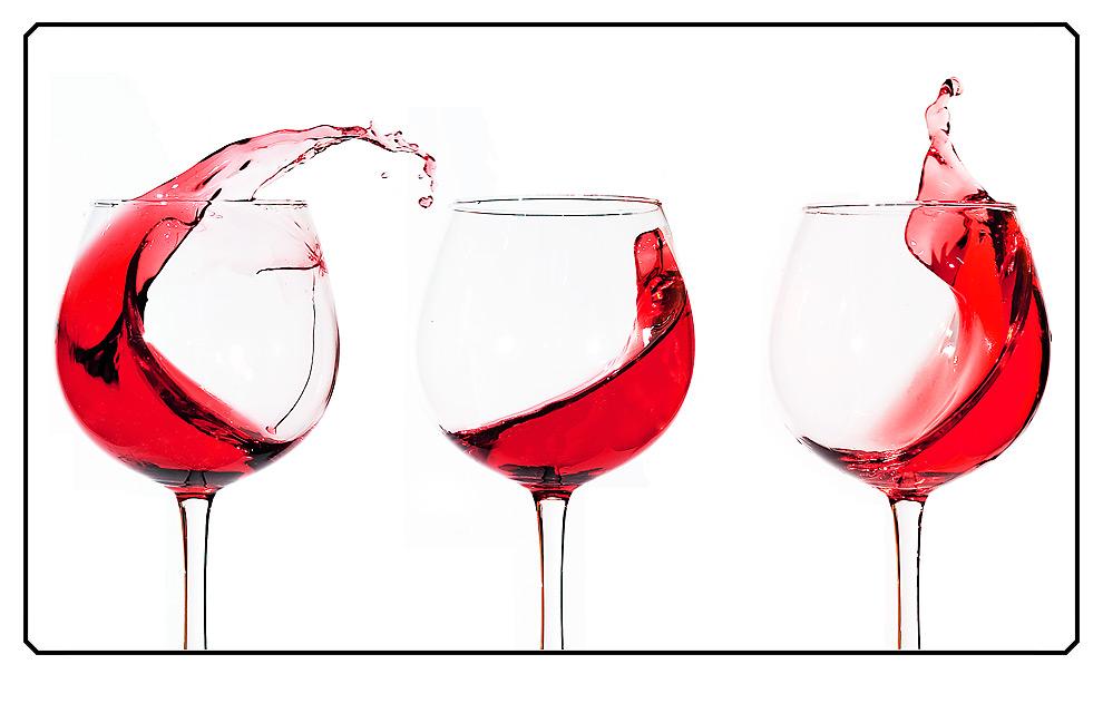 Sturm im Rotweinglas