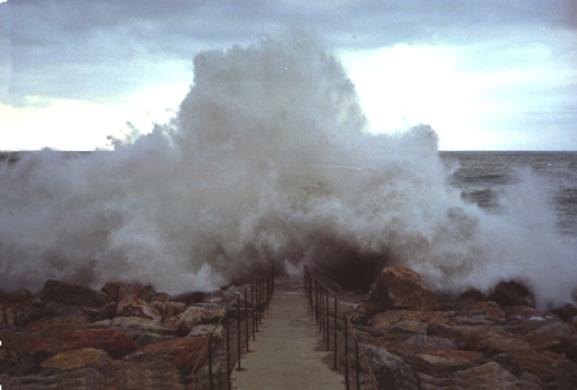 Sturm Mittelmeer