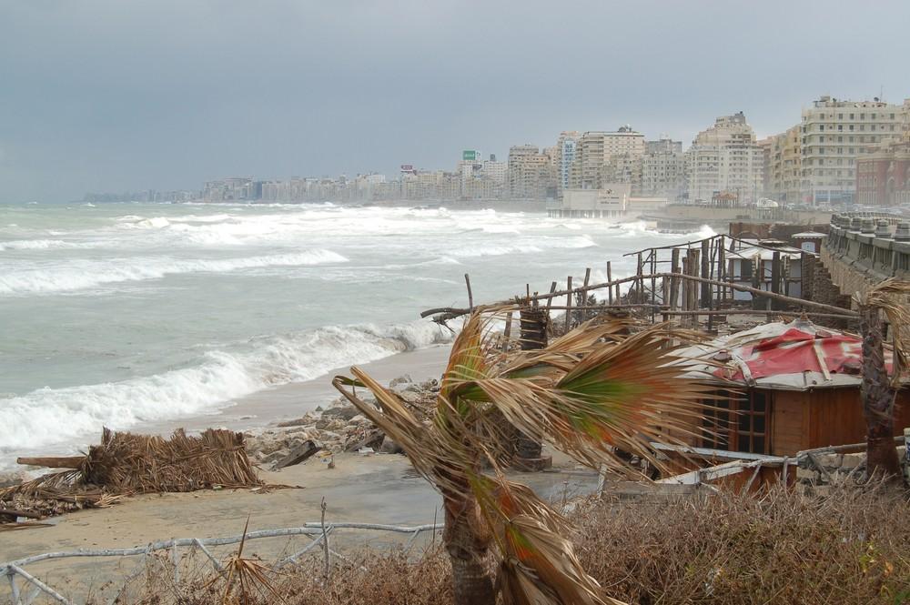 Sturm vor Alexandria