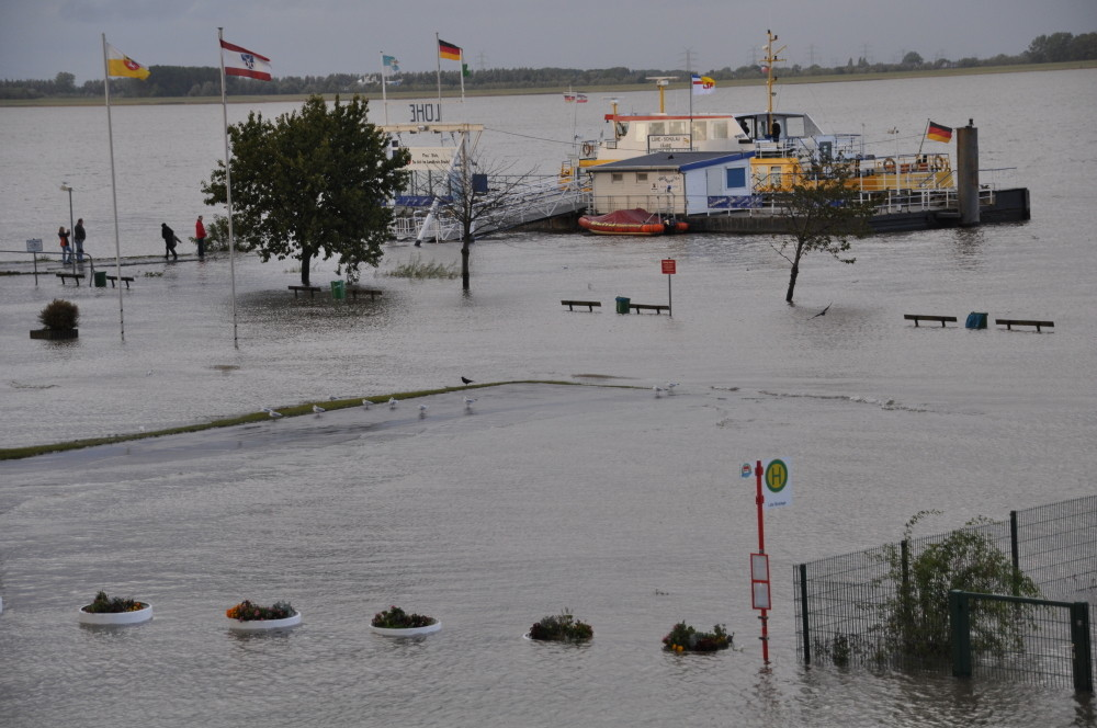 Sturmflut ist einfach etwas mehr Wasser