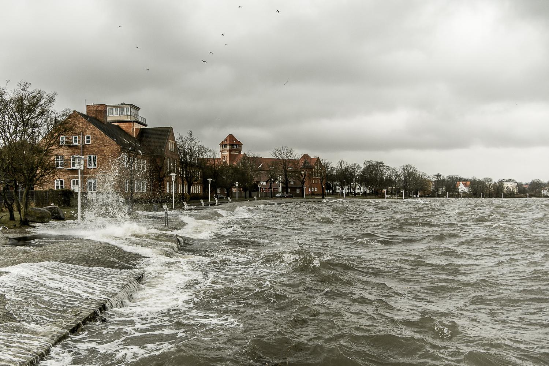 Sturmflut Stralsund