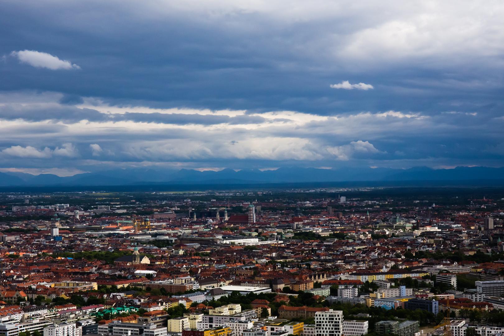 Sturmhimmel über München