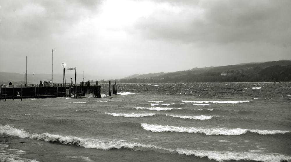 Sturmtag am Untersee
