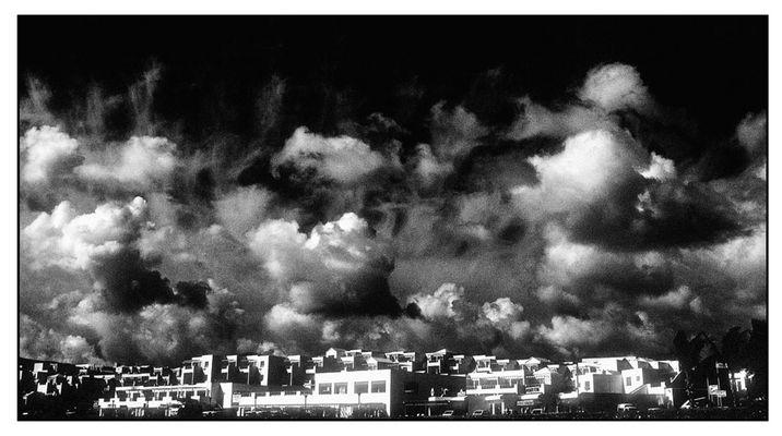 Sturmwolken über Lanzarote
