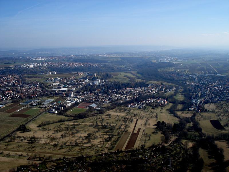 Stuttgart aus der Luft