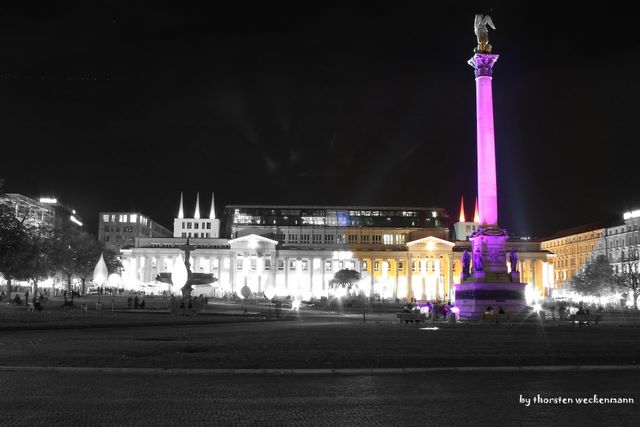 Stuttgart City leuchtet 3