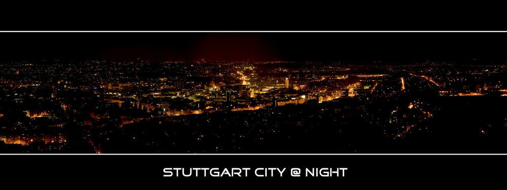 Stuttgart City @ Night