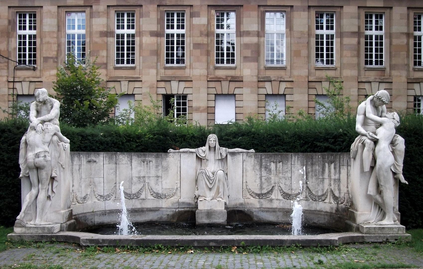 Stuttgart, der Schicksalsbrunnen