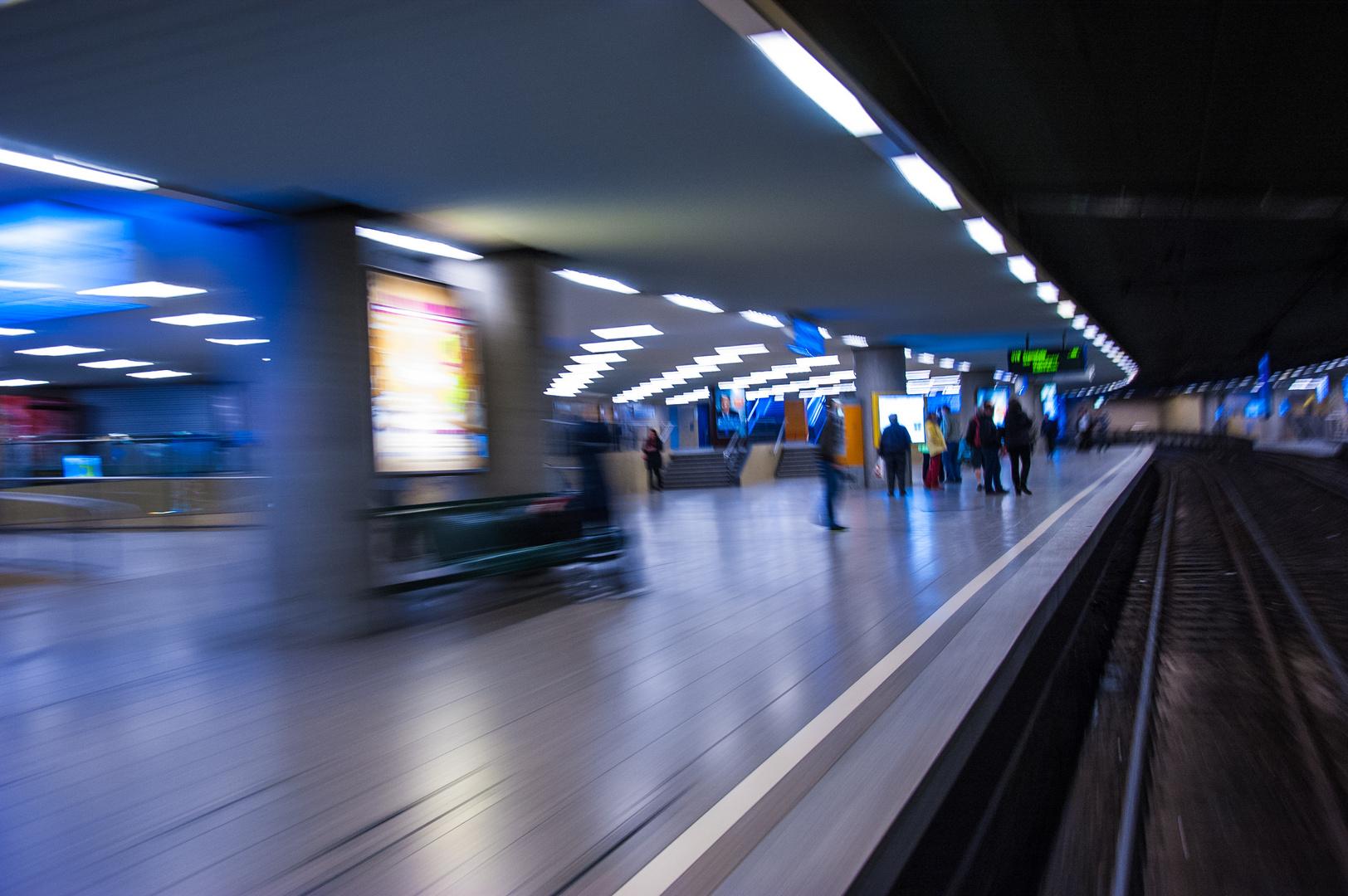 Stuttgart Hauptbahnhof tief